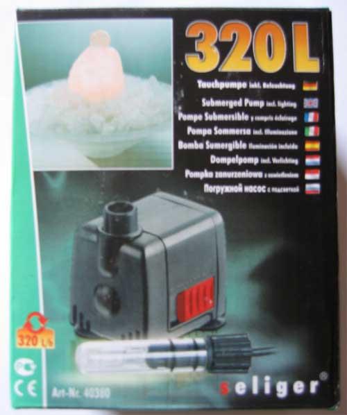 seliger zimmerbrunnen pumpe 150 150l 280 280l 320 320l f r brunnen neu ebay. Black Bedroom Furniture Sets. Home Design Ideas